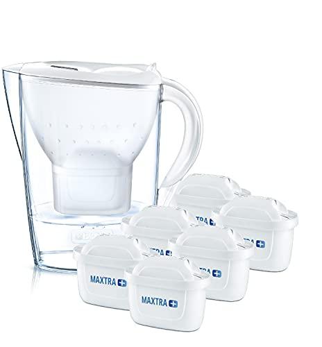 BRITA Wasserfilter Marella weiß inkl. 6 MAXTRA+...