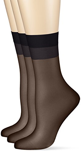 Hudson Damen 030044 Glanz Fein Socken, 15 DEN,...