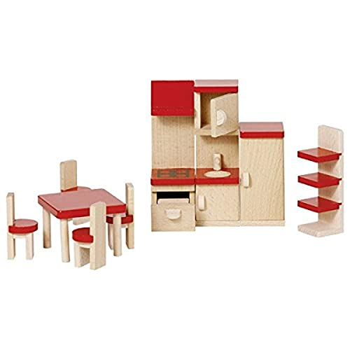 goki 51718 Puppenmöbel Küche, Basic