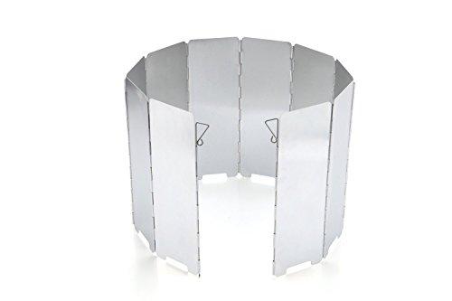 JAMSWALL Windschutz Aluminium Windschutzscheibe...