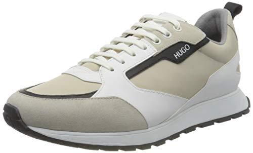 HUGO Herren Icelin_Runn_nypu Sneaker, Open...