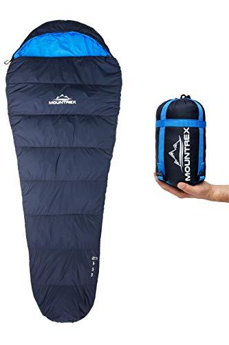 MOUNTREX® Schlafsack - Kleines Packmaß &...