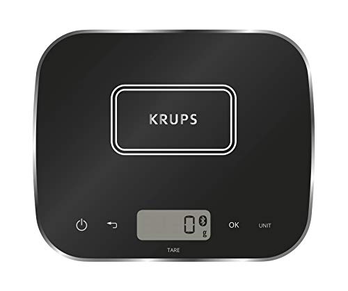 Krups XF5548 Prep&Cook Küchenwaage (Bluetooth,...