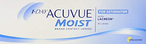 Acuvue 1-Day Moist for Astigmatism Tageslinsen...