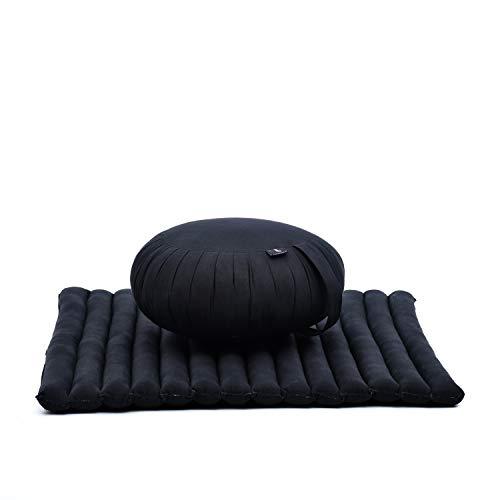 Leewadee Meditationskissen Set Sitzkissen Rund...
