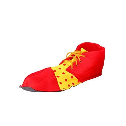 BESTOYARD Clown Schuhe Dot Prom Performance...