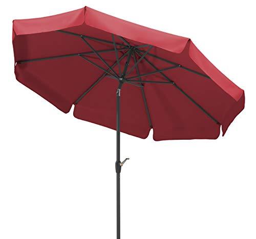 Schneider Sonnenschirm Orlando, rot, 270 cm rund,...