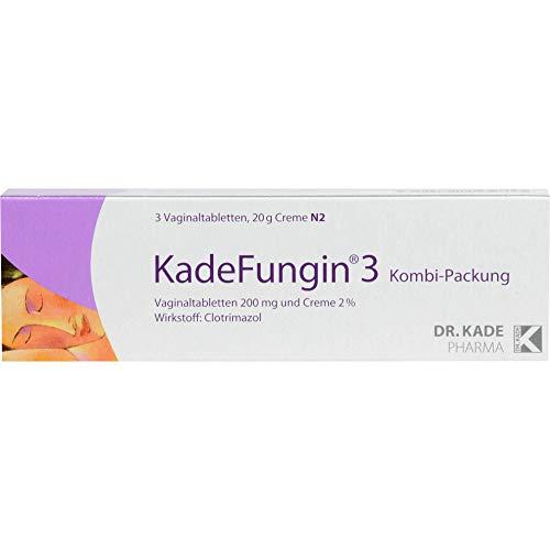 KadeFungin 3 Kombi-Packung Vaginaltabletten und...