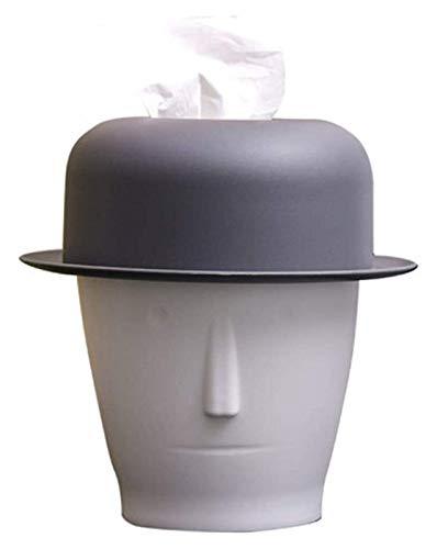 WQQLQX Statue Abstrakte Charakter Kopf Tissue Box...