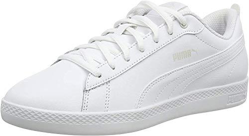 PUMA Damen Puma Smash Wns V2 L Sneaker, Weiß Puma...