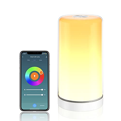 LED Nachttischlampe, SKYNESS Touch Control...