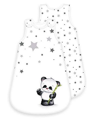 Baby-Schlafsack Motiv Panda - ganzjährig -...