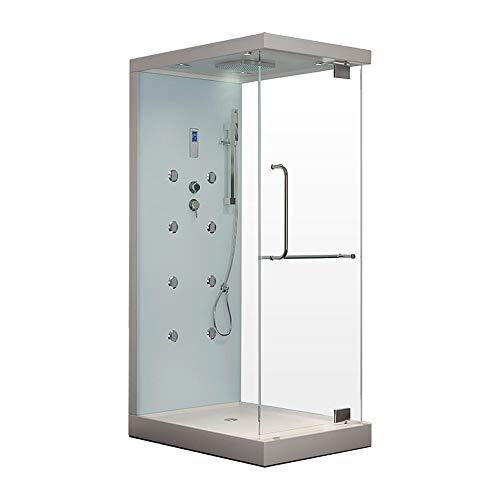 Home Deluxe - Dampfdusche - Design M - Maße: 80 x...