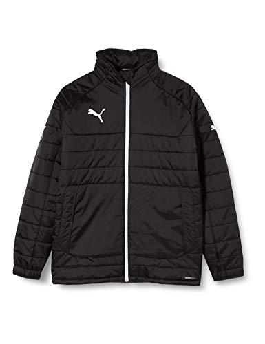PUMA Kinder Jacke Stadium Jacket, black-White, 176