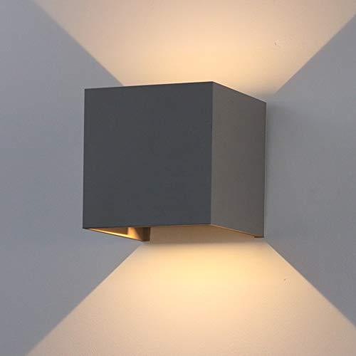 K-Bright 12W dekorative Wandlampen,wasserdicht IP...