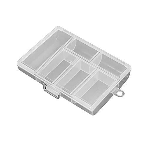 HBWHY 6 Gitter Transparente Aufbewahrungsbox Klare...