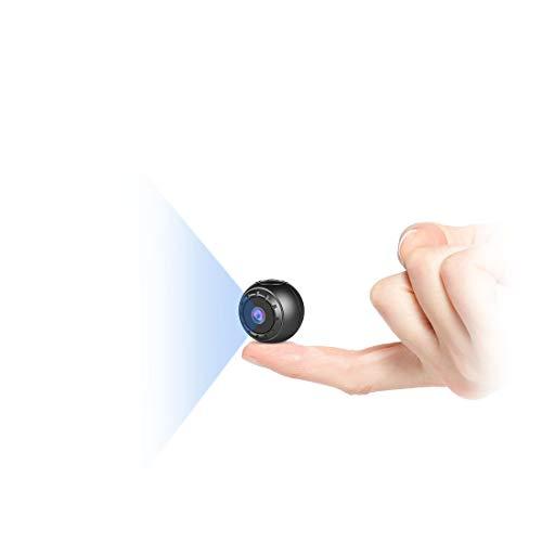 Mini Kamera Bewegungserkennung,MHDYT Full HD 1080P...