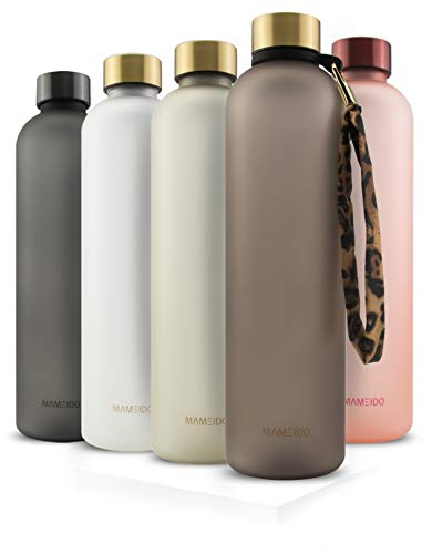 MAMEIDO Trinkflasche 1l - auslaufsicher,...