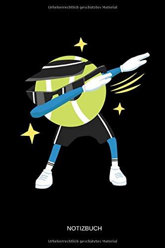 Notizbuch: Tanzender Tennis Ball - Lustiges Tennis...