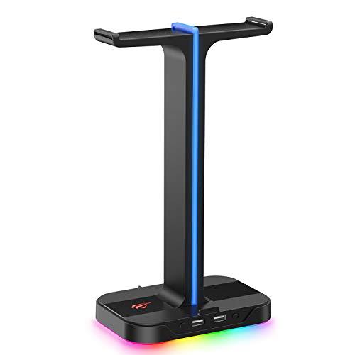 Havit Headset Ständer RGB Dual Balance mit 2...