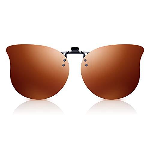 Polarisierte Clip-On Sonnenbrille Herren/Damen mit...