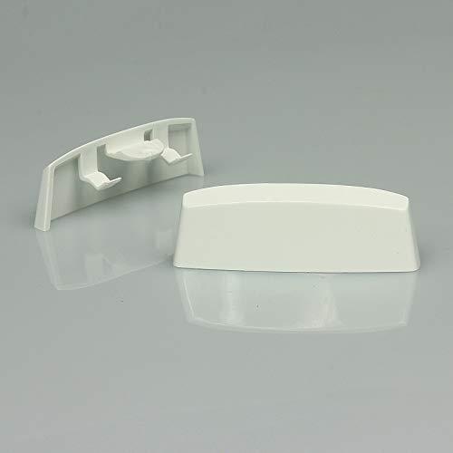 Wasserschlitzkappen Standard Weiss RAL 9016- Braun...
