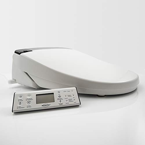 MEWATEC E900 Marken Dusch-WC Aufsatz + 4...