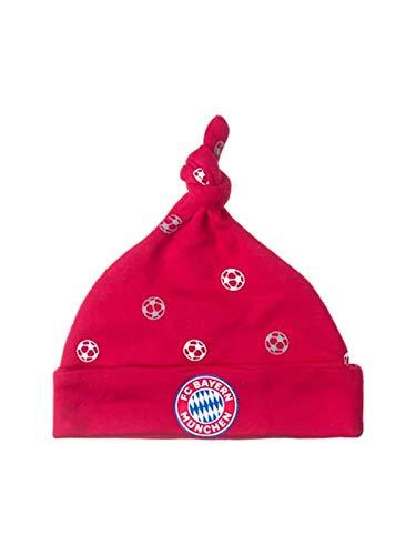 FC Bayern München Baby Mütze mit Zipfel und FCB...