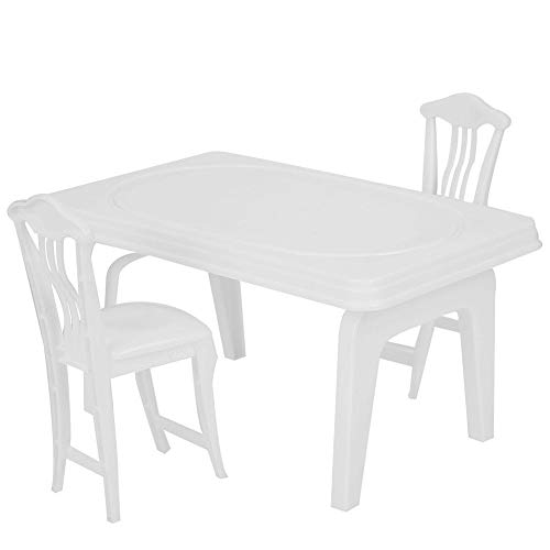 Tnfeeon 3 Stücke Mini Spielhaus Tisch Stuhl Set...