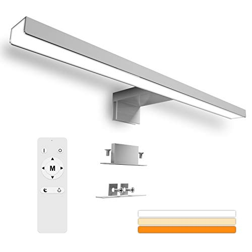 Karrong LED Spiegelleuchte Badezimmer 12W 1200LM...