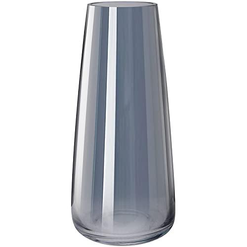 Vase aus Glas, Hoch Klarglas Konische Vasen,...
