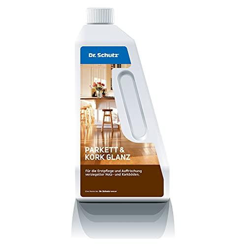 Dr. Schutz Parkett und Kork Glanz 750 ml   bildet...