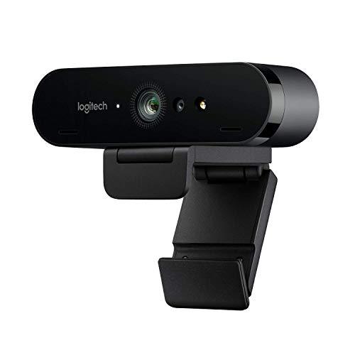 Logitech BRIO ULTRA-HD PRO Webcam, 4K HD 1080p,...