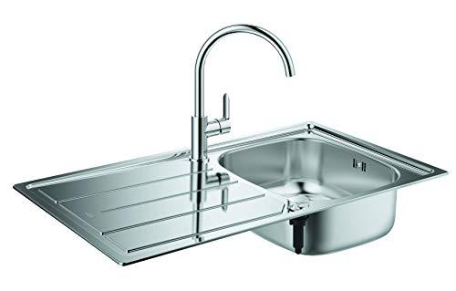 GROHE Bau Küchenspülen-Set (aus Spüle und...