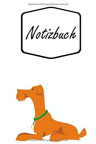 Notizbuch: Schöner Brauner Hund liegt vor...