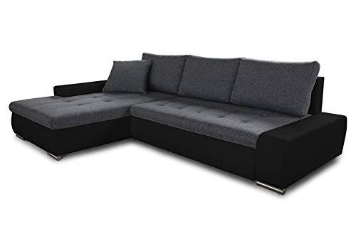 Ecksofa mit Schlaffunktion Faris - Couch mit...