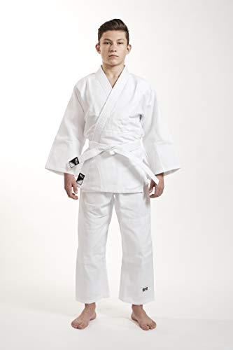 Ippon Gear Kinder Judoanzug Beginner, Weiß, 160