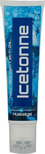 Icetonne Muskelgel mit Massageroller | 150 ml...