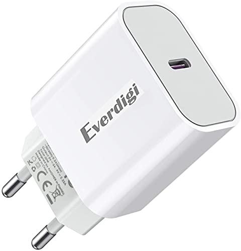 Everdigi 20w USB C Ladegerät Typ C Stecker...