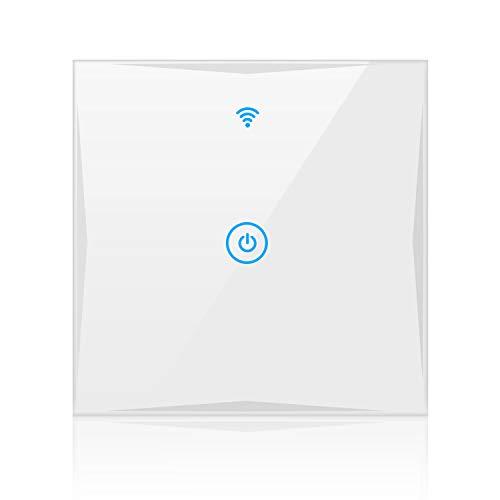 Alexa Smart Lichtschalter, SAINKO 1-Weg WLAN...