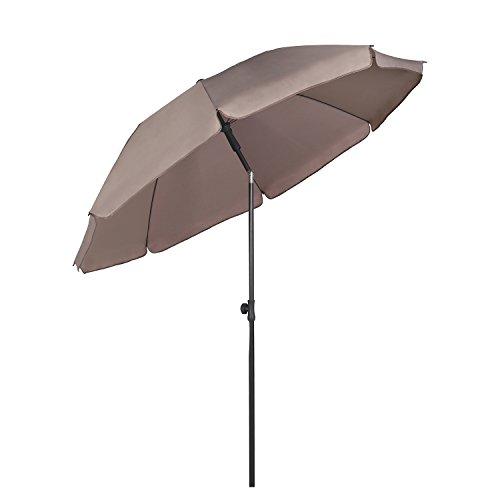 Sekey® Sonnenschirm 200 cm Marktschirm...