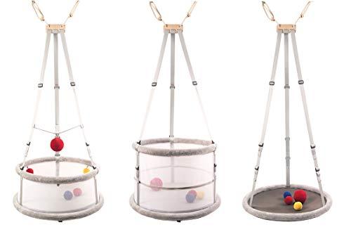 Memola® Home: 3 in 1 Babywiege Babyschaukel Wiege...