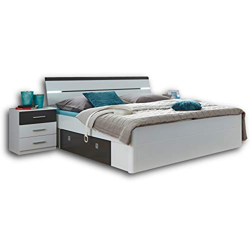 Stella Trading MARS Stilvolle Doppelbett...