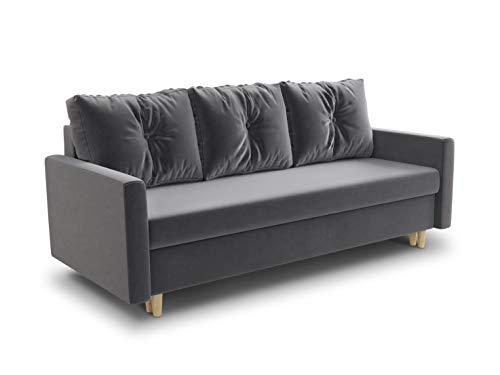 Schlafsofa Rico - Couch mit Schlaffunktion Sofa...