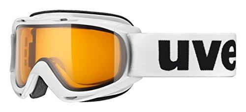 uvex Unisex Jugend, slider LGL Skibrille, white,...