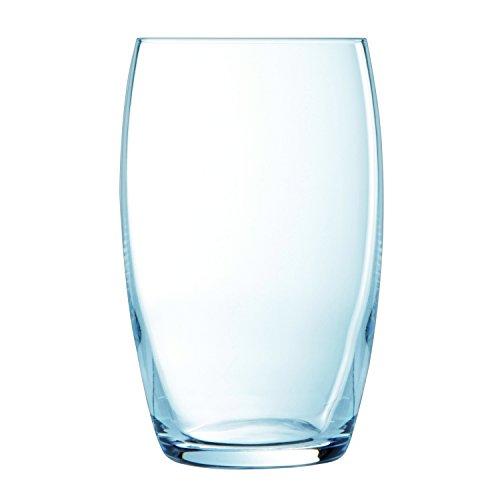 Luminarc 6 Hohe Trinkgläser Versailles, Glas,...