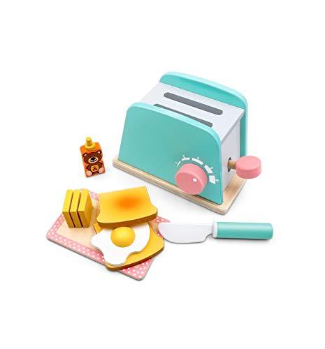 Tiny Land Kinderküche Brot und Butter Toaster Set...