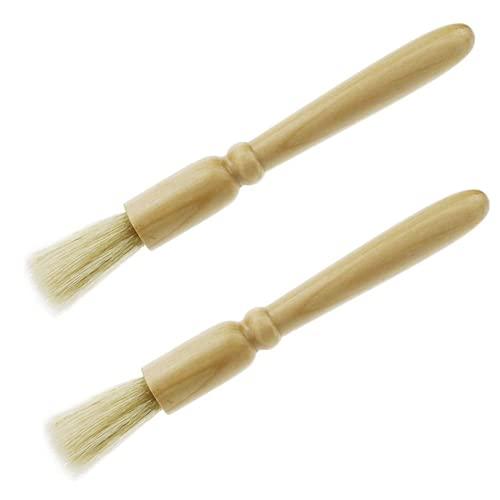 Ecloud Shop® Holz Griff und natürliche Borsten...