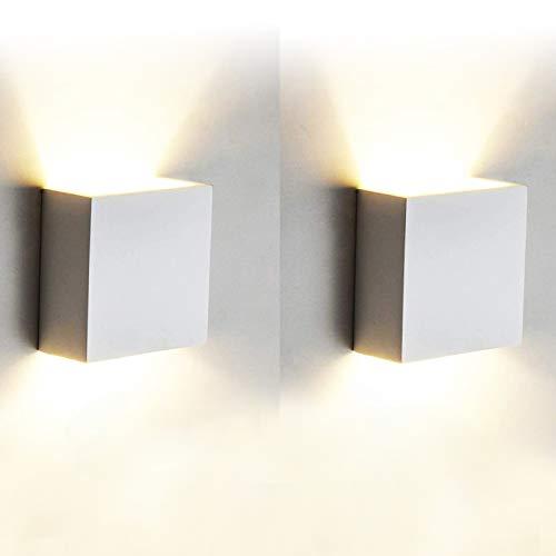 12W Led Wandleuchten Innen Modern, 2 Stücke...
