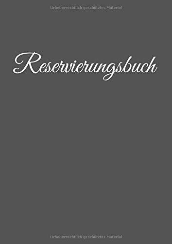 Reservierungsbuch: für Restaurant und...